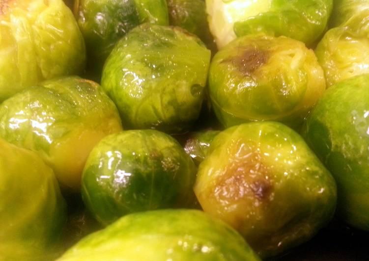 Recipe of Super Quick Homemade Drunken Brussel Sprouts