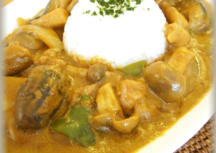 Veggie-Filled Coconut Milk Curry