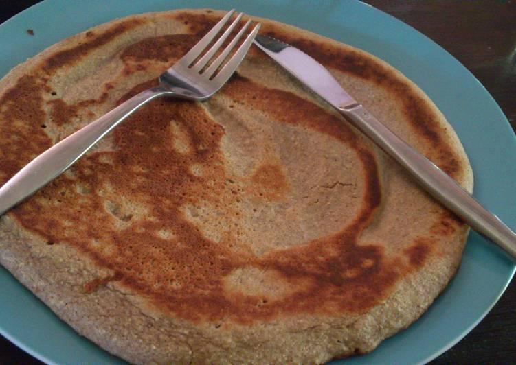 Buckwheat pancake x banana