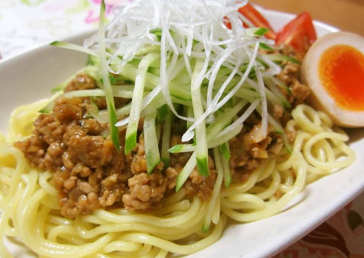 How to Prepare Ultimate Authentic Zhajiangmian with Meat and Miso