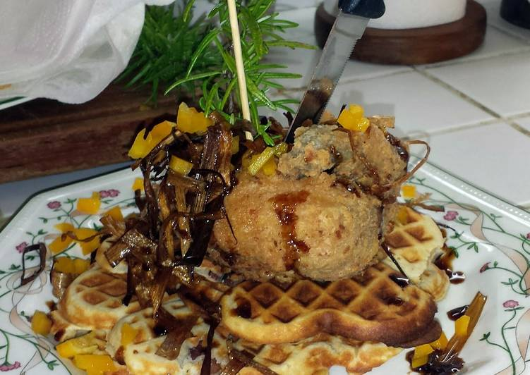 Sage Fried Chicken And Waffles