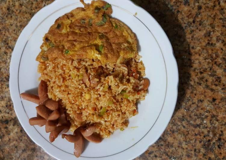 Resep Nasi goreng merah alami Lezat
