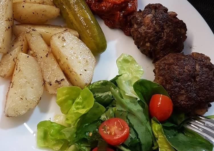 Top 100 Dinner Ideas Summer Bulgarian Fried Meatballs a.k.a Purjeni Kiufteta