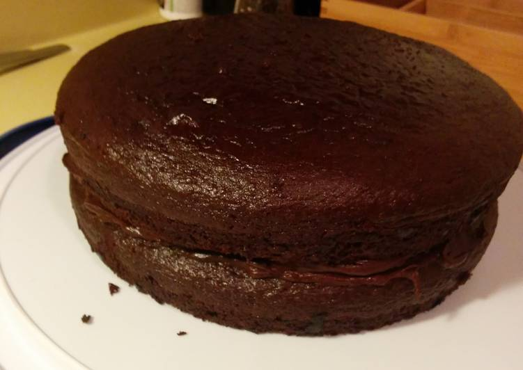 Gluten Free Fudge Cake