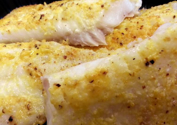 Honey Mustard Baked Cod