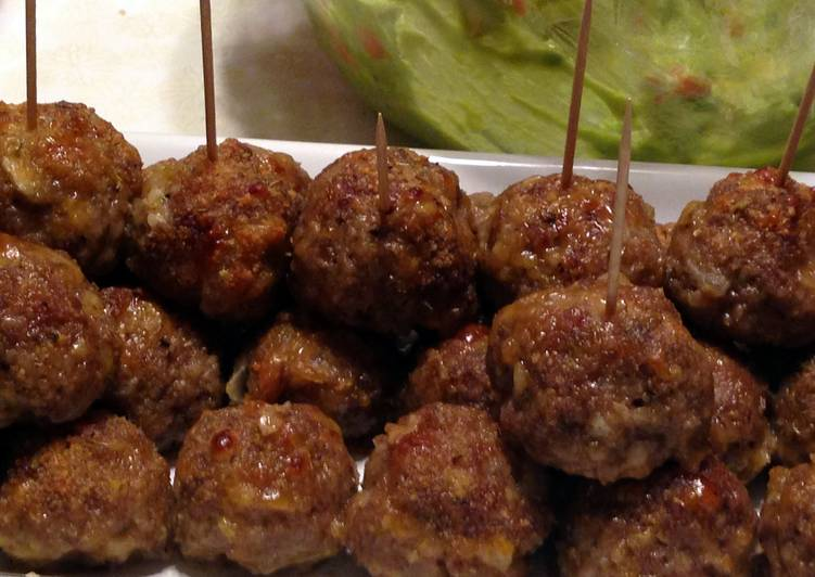 How to Make Homemade Brenda's Crispy Cheddar Meatballs
