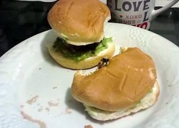 Easiest Way to Make Appetizing Jalapeno and Velveeta white cheese stuffed hamburgers