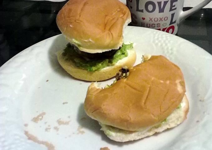 Jalapeno and Velveeta white cheese stuffed hamburgers