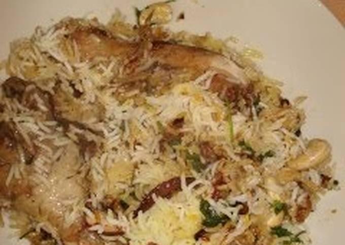 Recipe: Appetizing Chicken Biryani: Authentic Indian Rice Dish
