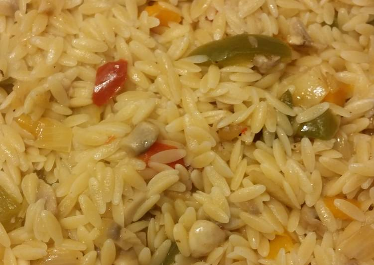 Foods That Can Make You Happy Orzo pilaf