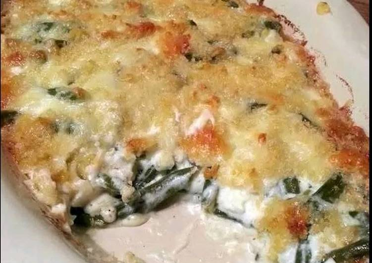 Swiss Green Bean Casserole