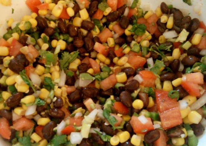 Recipe: Yummy Corn and Black Bean Salsa