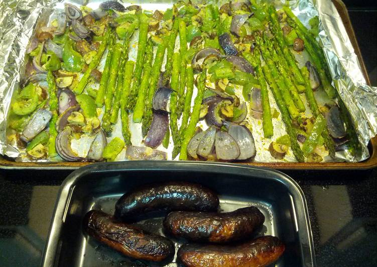 Easiest Way to Make Yummy Roasted asparagus