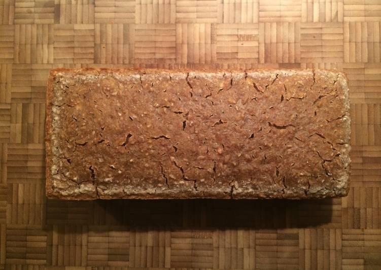 Danish Lunch Sourdough Rye Bread