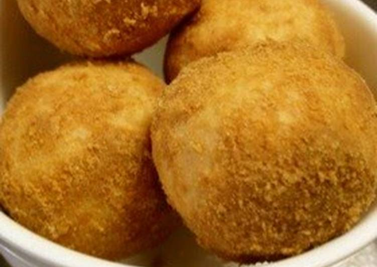 Learn How to Boost Your Mood with Food Brown Sugar and Kinako Tofu Donuts Made with Joshinko