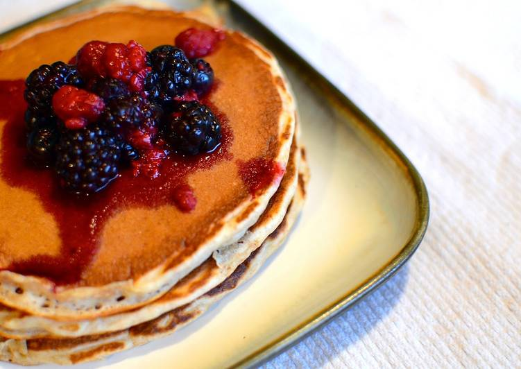 Fantastic Whole Wheat Pancakes