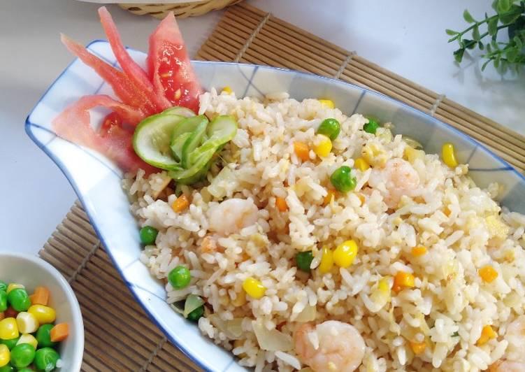 Resep Nasi Goreng Putih / Hong Kong Bikin Jadi Laper