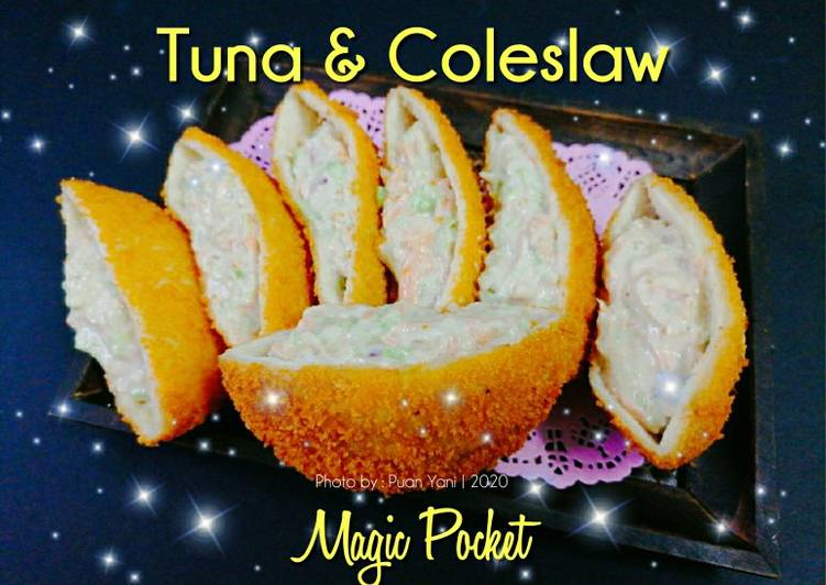 Tuna & Coleslaw Magic Pocket - velavinkabakery.com