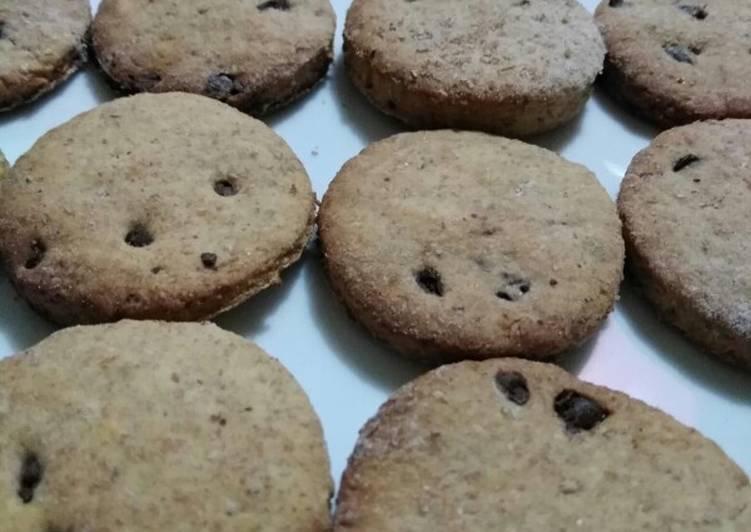 Biscotti farina integrale e miele