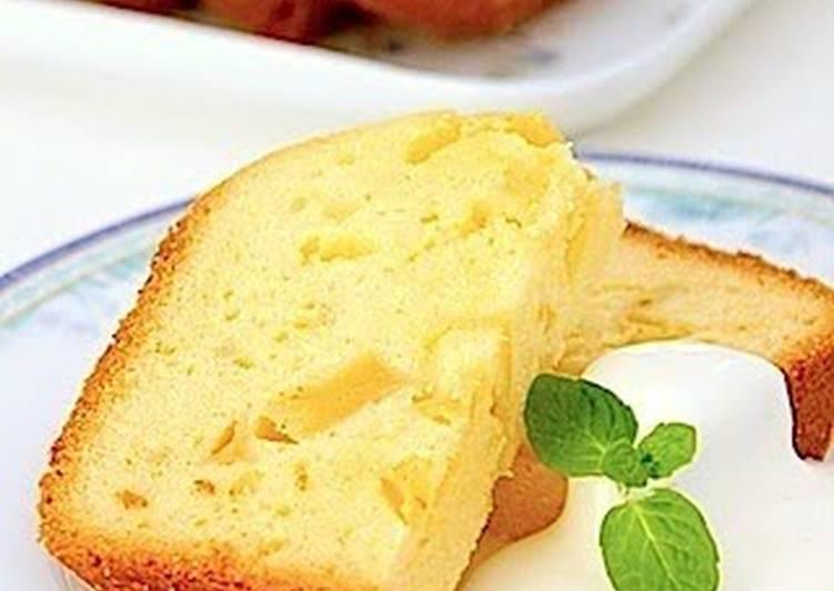 Apple Cake in a Bread Machine