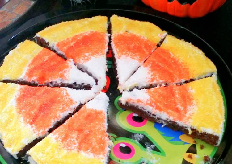 The Best Way to Make Delicious Candy Corn Brownies