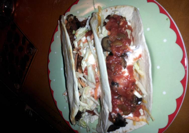 What is Dinner Easy Quick Easy Vegetarian Tacos