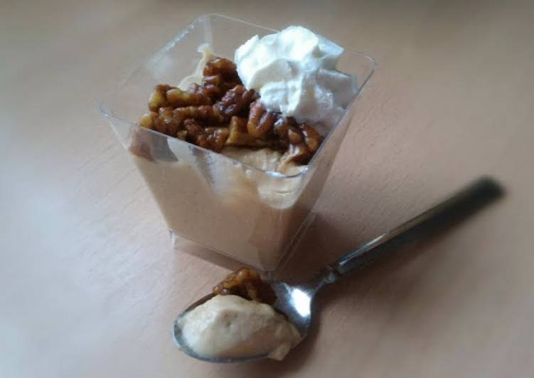 Recipe: Tasty Vickys Pumpkin Pudding with optional Candied Pecans, GF DF EF SF