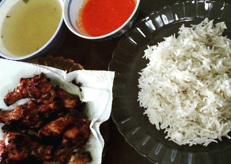 How to Prepare Super Quick Homemade Chicken Rice, Soup and Chilli