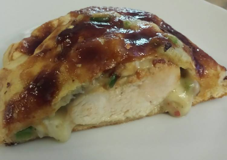 "BBQ Chicken ""Hot Pocket"""