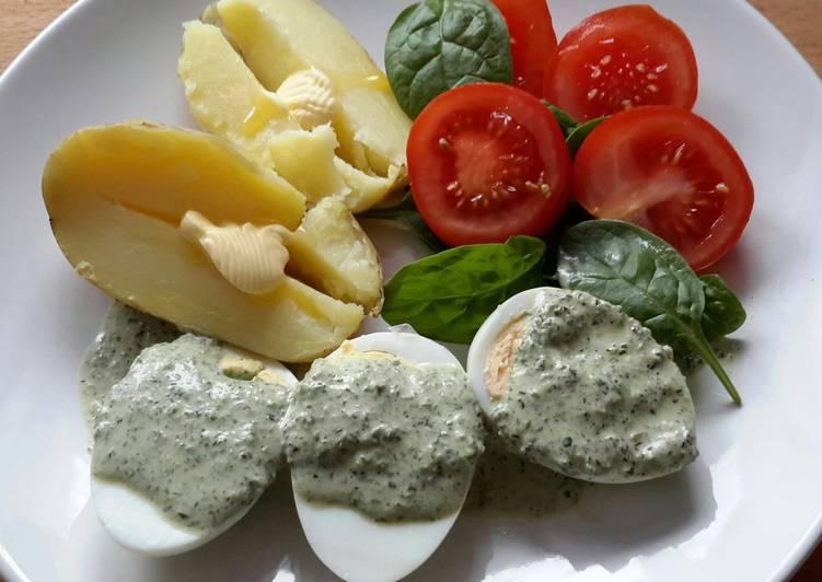 Recipe of Most Popular Sig's German Green Herb Sauce