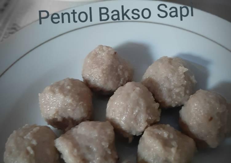 Pentol Bakso Sapi