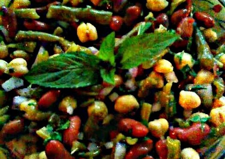 Lickity Split Three Bean Salad