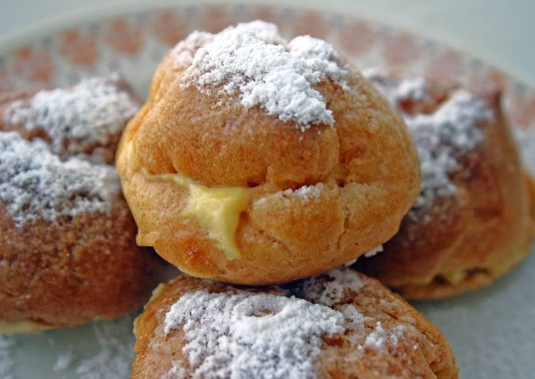 Recipe of Speedy Choux Puffs (Cream/Custard Puffs)