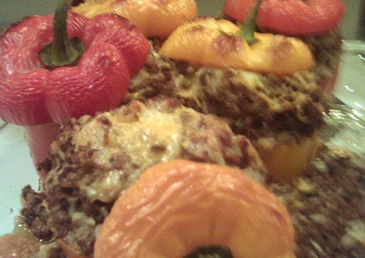 Recipe: Yummy Dad's Stuffed Peppers