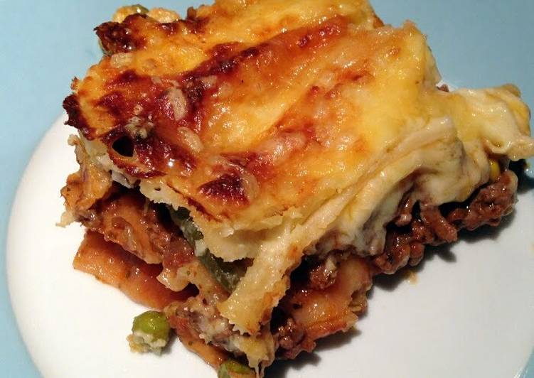 Easiest Way to Make Appetizing WOW lasagne
