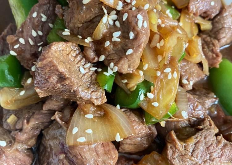 Beef saus teriyaki
