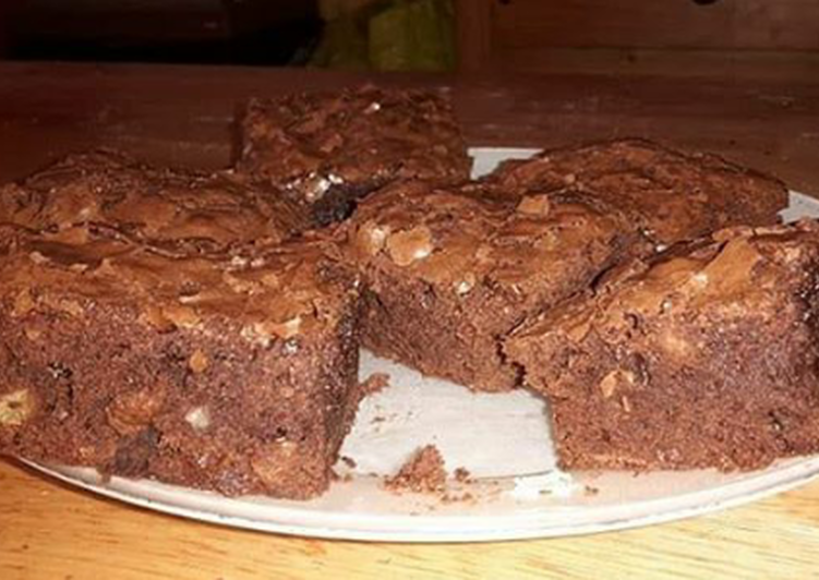 Comment Servir Brownie