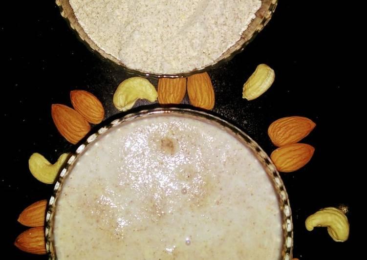 Steps to Prepare Super Quick Homemade Chatua(Sathu Mavu Mix for Babies)