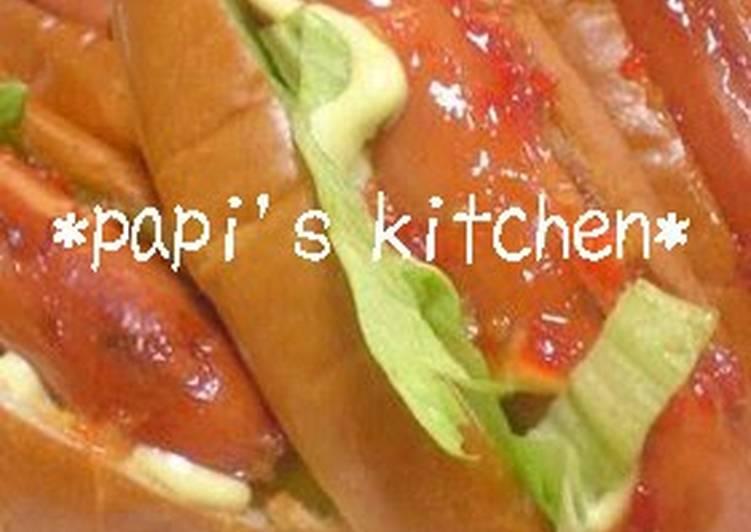 Sweet Chili Simple Hot Dog