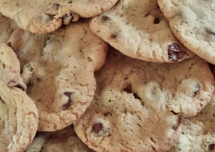 Never Fail Chocolate Chip Cookies