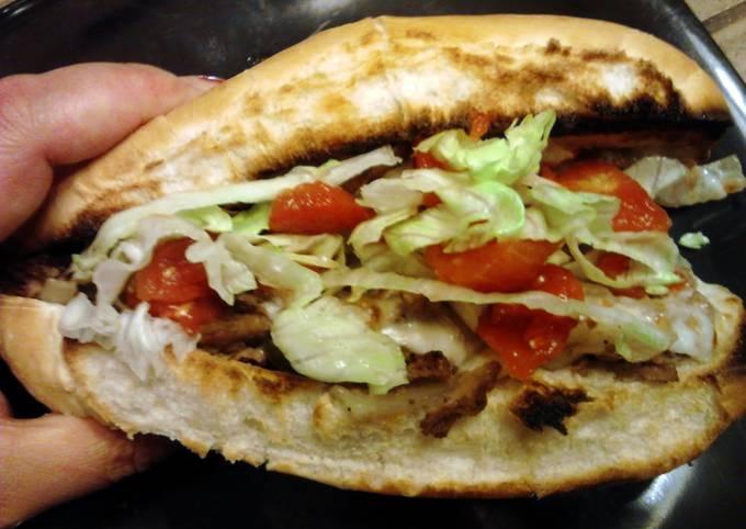 Toasted Steak em' Sandwiches