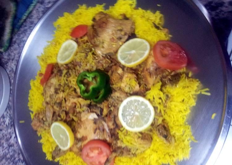 Recipe of Speedy chicken machboos