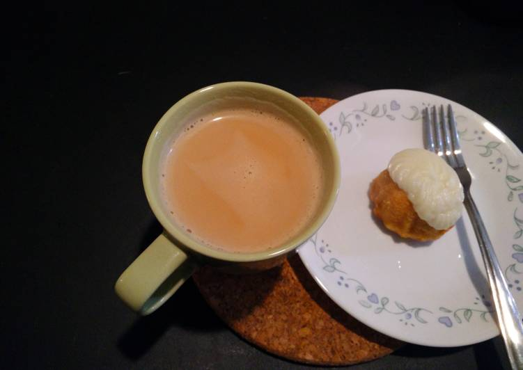 Snack time chai