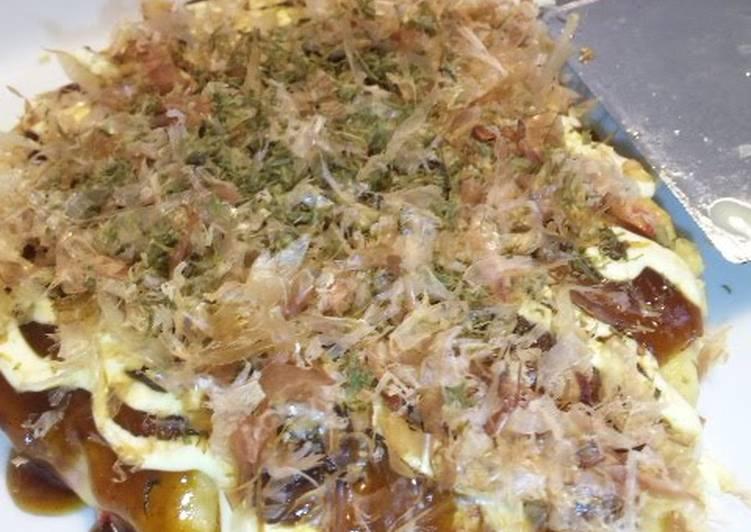 How to Prepare Homemade An Osaka Aunties' Okonomiyaki