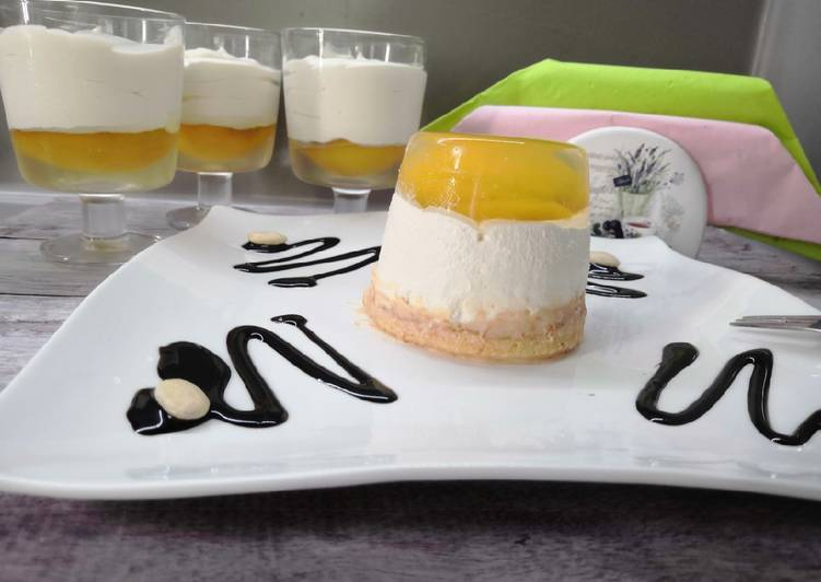 Glutén- és tejmentes kecskeméti barackpuding recept foto