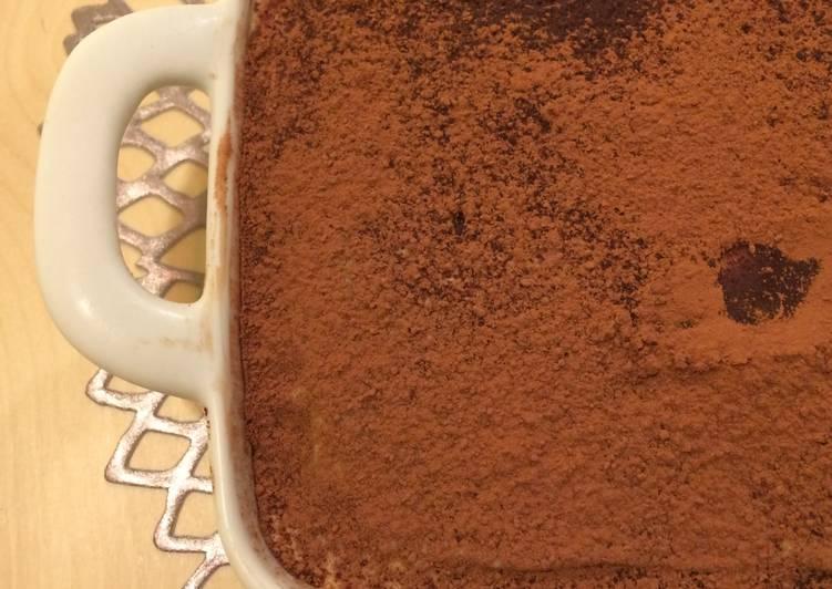 Recipe of Speedy Tiramisu