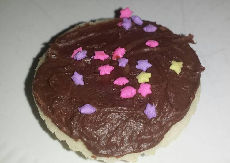 Dark chocolate frosting