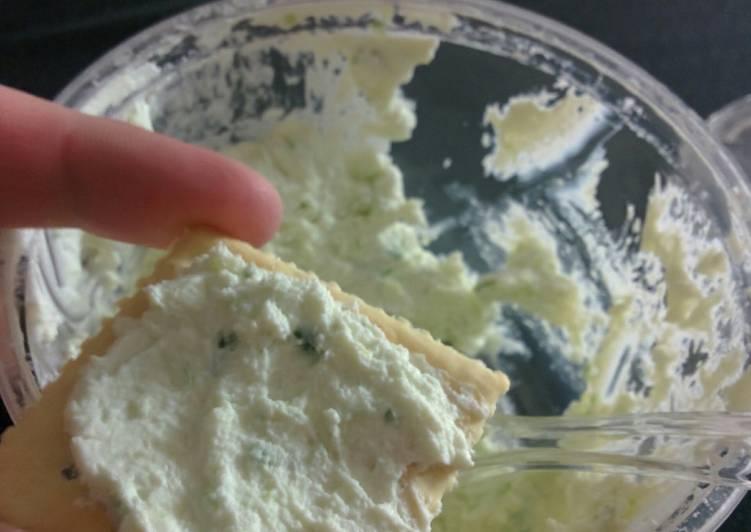 Goat Cheese Scallion Spread
