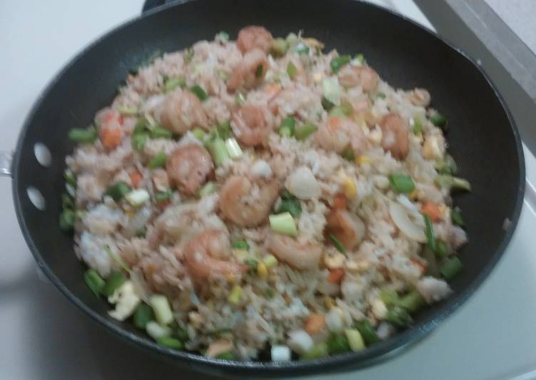 Easiest Way to Prepare Delicious Shrimp Fried Rice