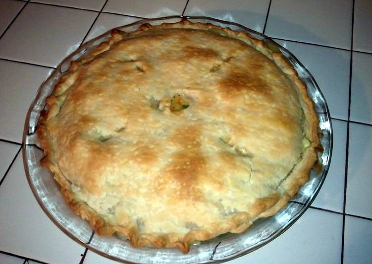 Step-by-Step Guide to Prepare Top-Rated Quick & Easy Homemade chicken pot pie
